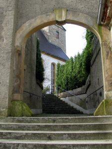 Zugang Kirche Wittgendorf